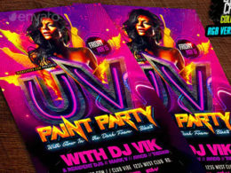 Best Paint Flyer Templates