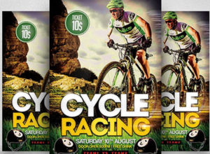 Bicycle Flyer Templates