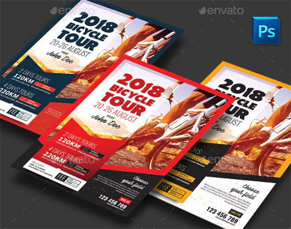 Bicycle Tour Flyer Template