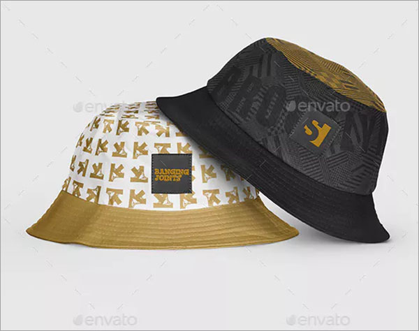 Bucket Hat Mockup Design