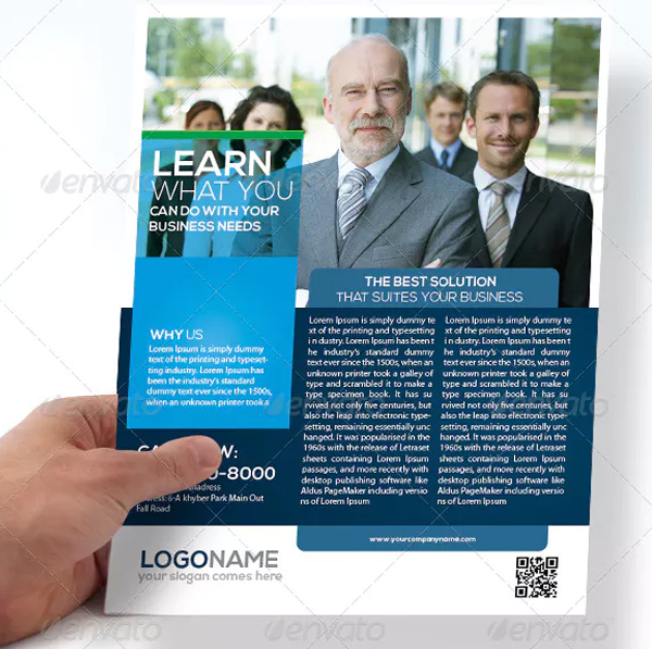 Business Flyer Double Sided