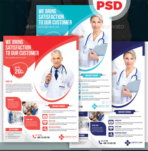 Business Medical Flyer Template