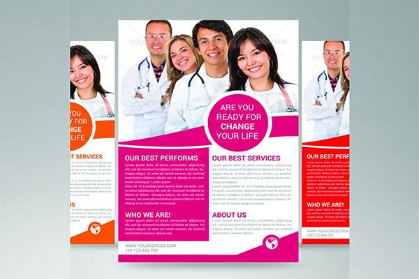 Printable Medical Flyer Template