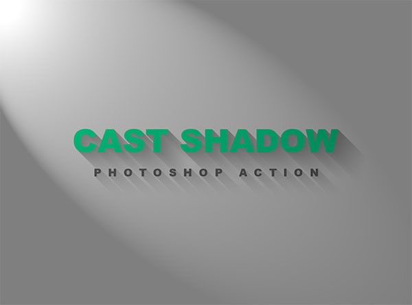Cast Shadow PSD Action