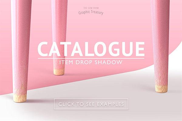 Catalogue Item Drop Shadow