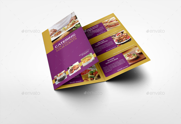 Catering Brochure Bundle Template