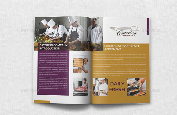 Catering Brochure Templates