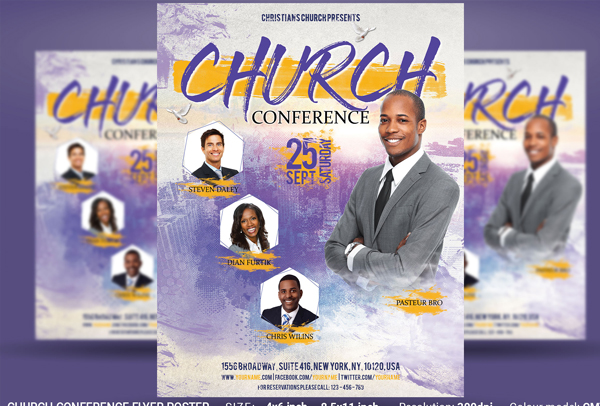 Church Conference Flyer and Poster Template
