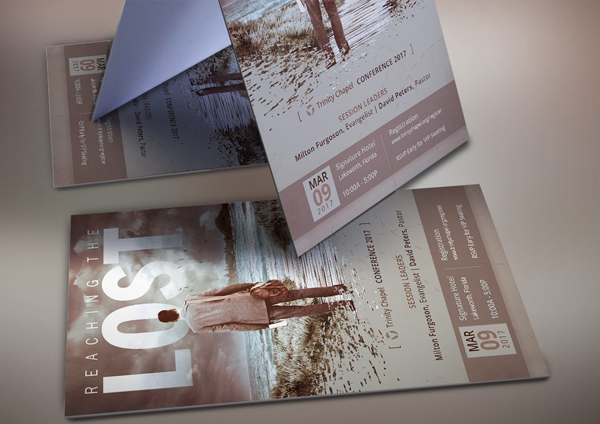 Church Missions Conference Flyer Template