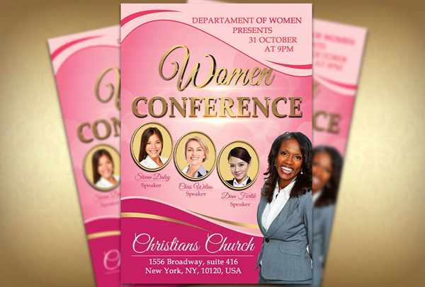 41+ Conference Flyer Templates - Free & Premium Psd, Ai, Eps