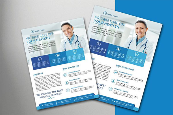Clean Medical Flyer Template