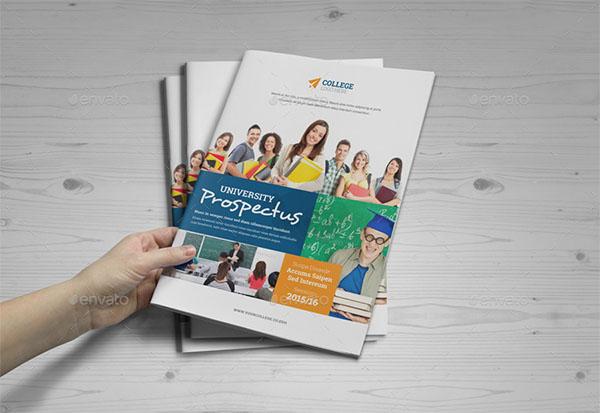 College University Brochure Design