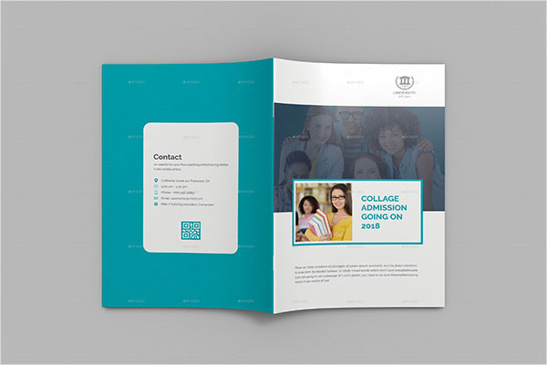 College University Brochure Template