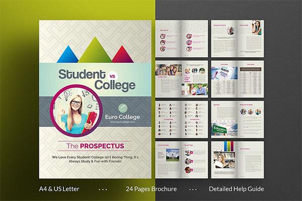 College & University Brochure