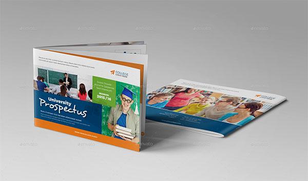 College University Prospectus Brochure PSD Design