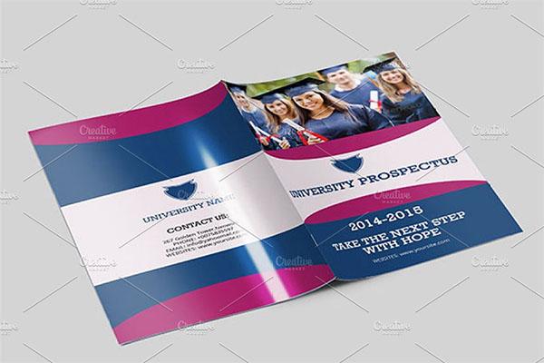 College University Prospectus Design Brochure
