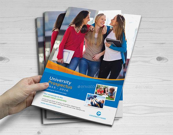 College and University Prospectus Brochure