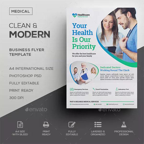 Company Medical Flyer