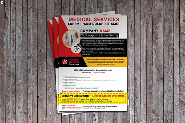 Medical Services Flyer Template