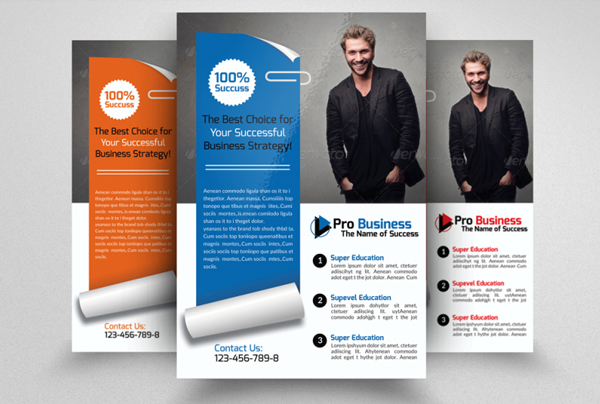 Corporate Lawyer Flyer Template
