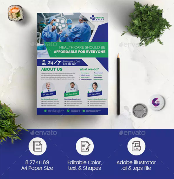 Corporate Medical Flyer