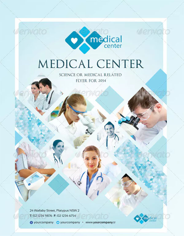 Corporate Medical Flyer Template