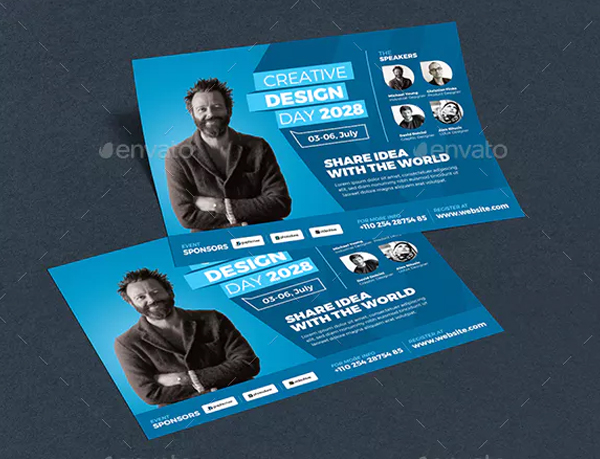 Creative Design Conference Flyer Template