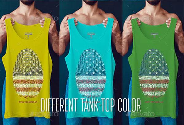 Creative Tank Top Mock-Up