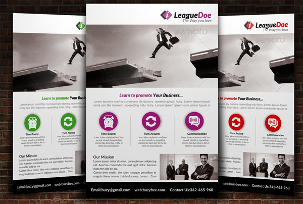 Customizable Lawyer Firm Flyer Template