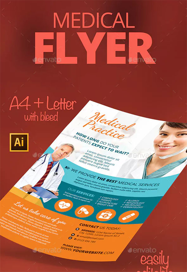Customizable Medical Flyer Template