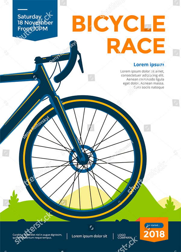 Cycling Championship Flyer Template