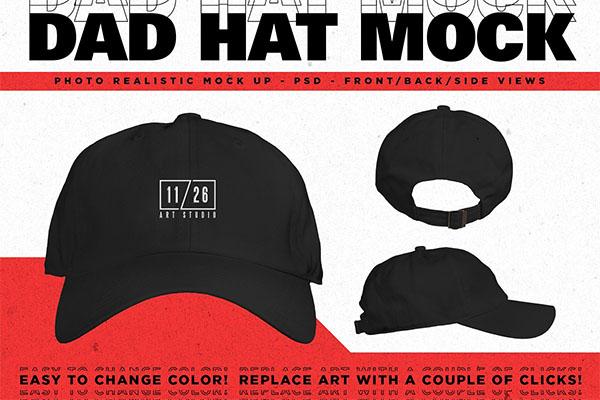 Dad Hat Mockup