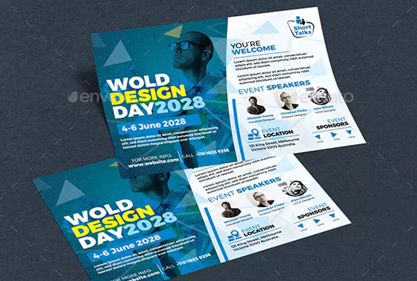 Design Conference Flyer Template