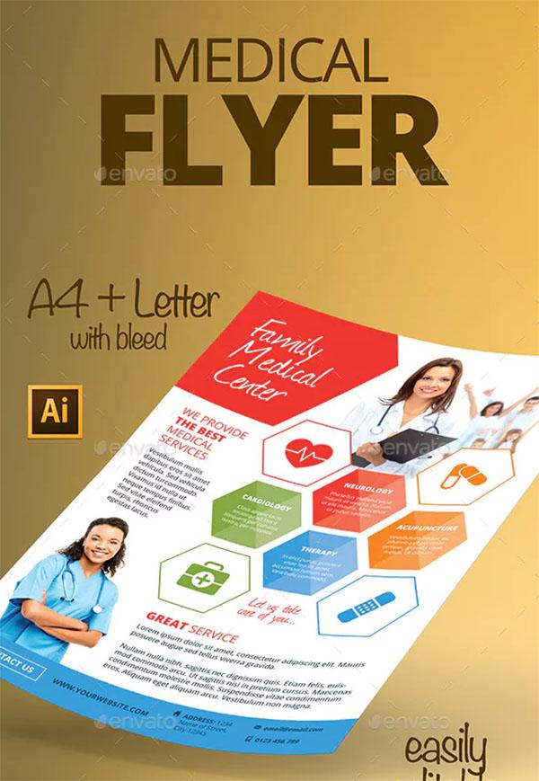 Editable Medical Flyer Template