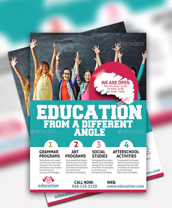 Education Academy Flyer
