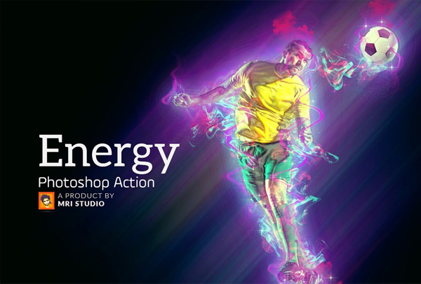 Energy Action Download for Photoshop