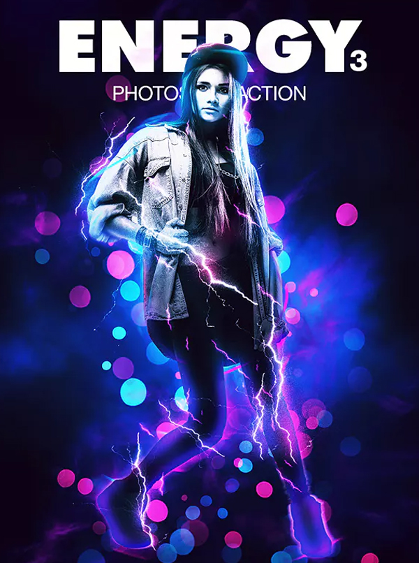 Energy Actions for Photoshop