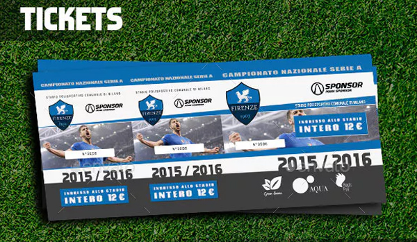 Football Event Ticket Templates