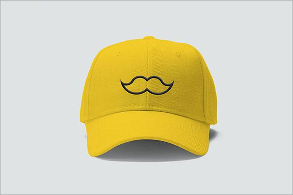 Free Cap Mockup PSD Design