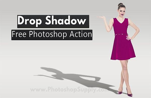 Free Drop Shadow Photoshop