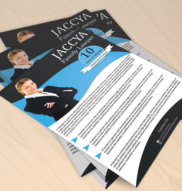 Free Flyer Design For Family Lawyer