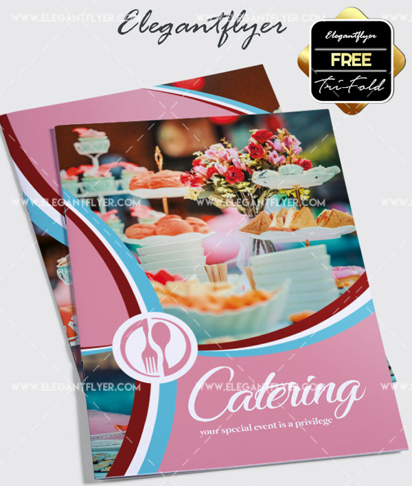 Free Food Catering Brochure Template