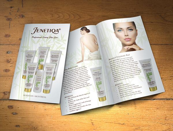 Free Luxury Skin Care Product Brochure