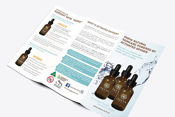 Free Natural Skin Care Brochure Template