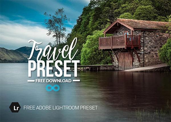 Free PSD Travel Lightroom Preset