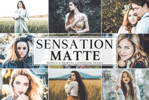 Free Sensation Matte Mobile & Desktop Lightroom Presets