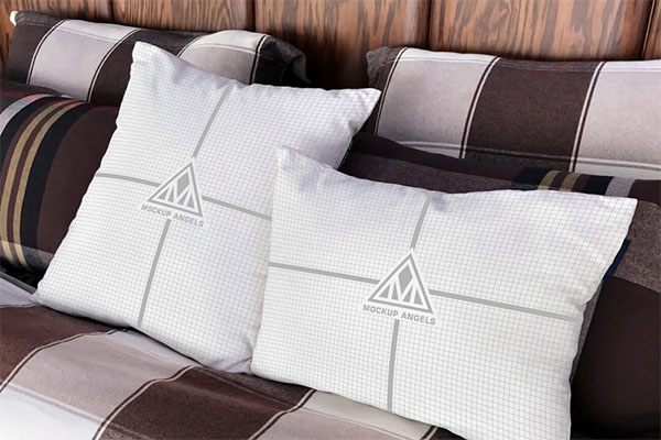 Free White Pillows Mock up