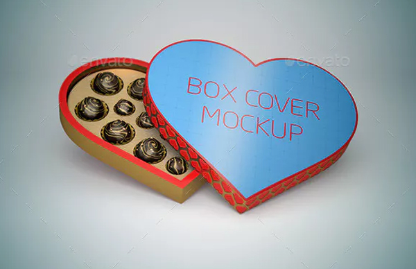 Fresh Heart Box Mockup