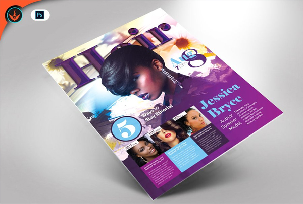 Hair and Fashion Conference Flyer