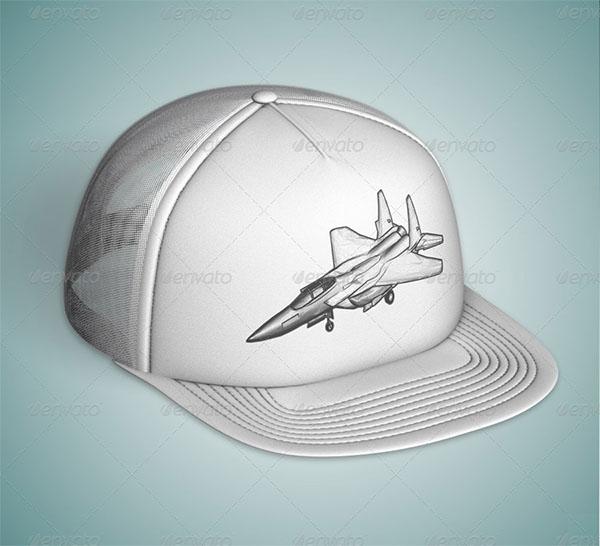 Hat Mock-up Design